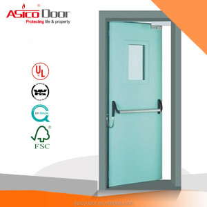 American Standard UL Certified Steel Fire Door 1.0 hour up to 3.0 hours For Commercial Building