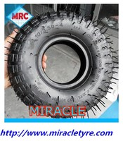 Made in CHINA MRC Brand factory direct supplier heavy duty rubber wheelbarrow tire /wheelbarrow tyre 4.10/3.50-4 for low speed