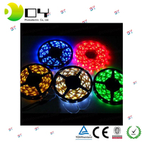 CE/RoHs Waterproof RGB IP65 led strip light 14.4W/M SMD 5050 flexible battery in alibaba/New product led strip 5050 in China