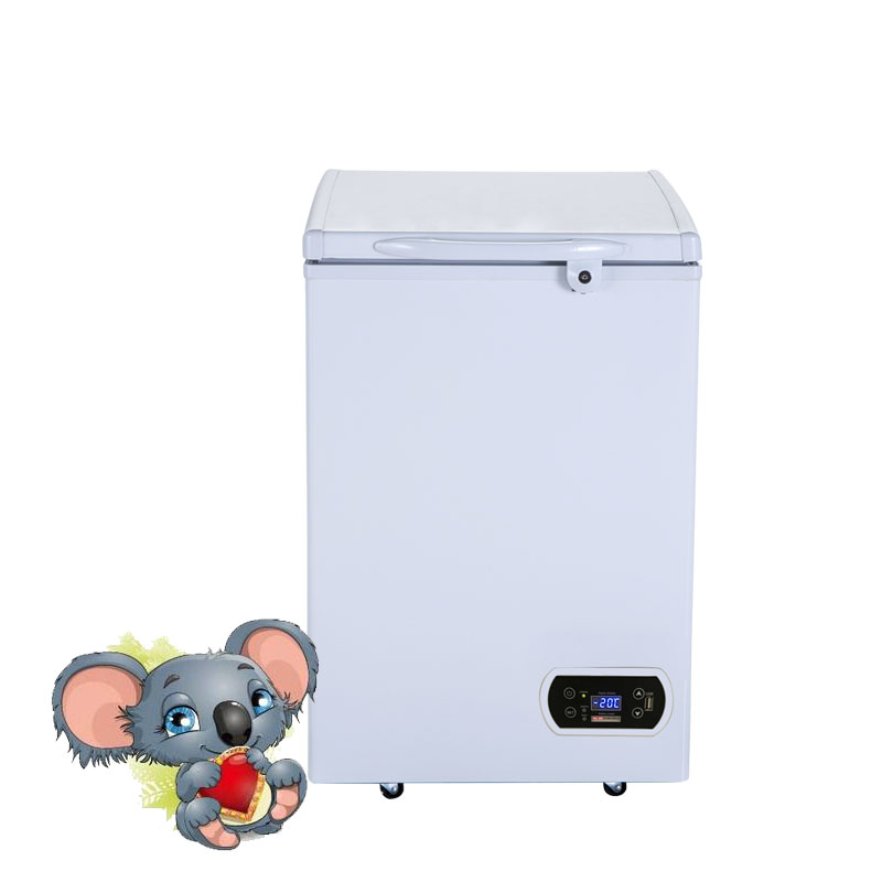 12 v portable icecream display <strong>refrigerator</strong> and freezer 95 liter