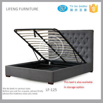 Modern design linen fabric double bed hydraulic lift up storage bed  sc 1 st  Alibaba & Modern Design Linen Fabric Double Bed Hydraulic Lift Up Storage Bed ...