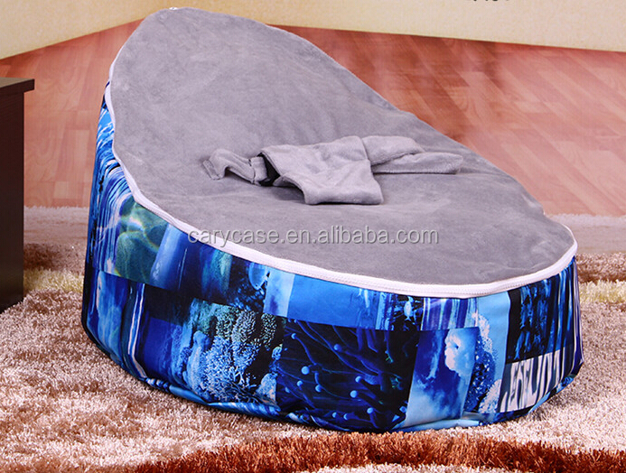 Superb Gray Cover Top Forest Baby Belt Safe Dance Beanbags Chair Child Todler Bean Bag Kid Pod Seat Bean Bag Nursery Snuggle Bed Buy Baby Chair Beanbag Andrewgaddart Wooden Chair Designs For Living Room Andrewgaddartcom
