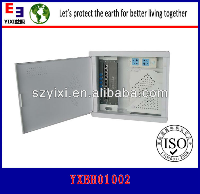 With Cat5e / Cat6 UTP 8port patch panel Soho Box