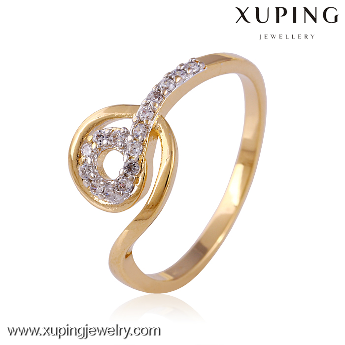 Latest Simple Fashion Ladies Gold Finger Rings Designs For Girl ...