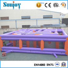 Customized Inflatable Obstacle Course Inflatable Maze Game, Fun Games Inflatable Zombie Maze Games for Kids and Adults