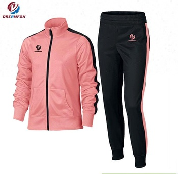 11b153af685 Dreamfox sublimation design your own tracksuit custom ladies tracksuit set  with zipper
