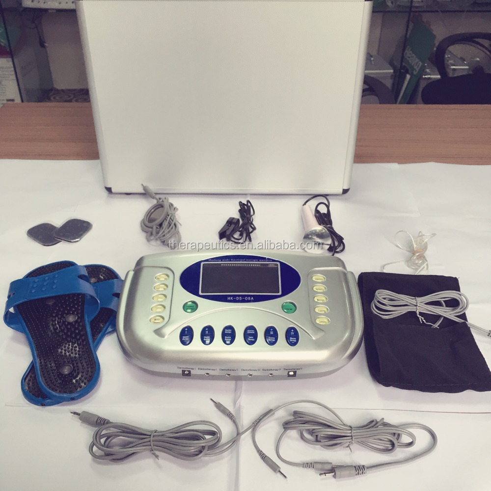Physiotherapy 4 channel tens/ems tens machines device