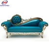 Classic mansion royal elegant fabric sofa set