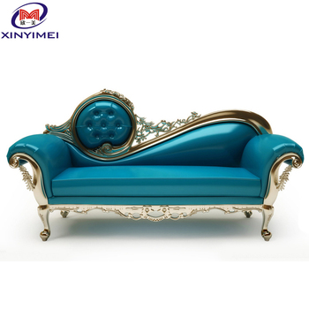 Classic mansion royal elegant high quality durable PU leather sofa set