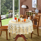 PVC Table Overlay/Table Runner/Table Clothes For Round Tables