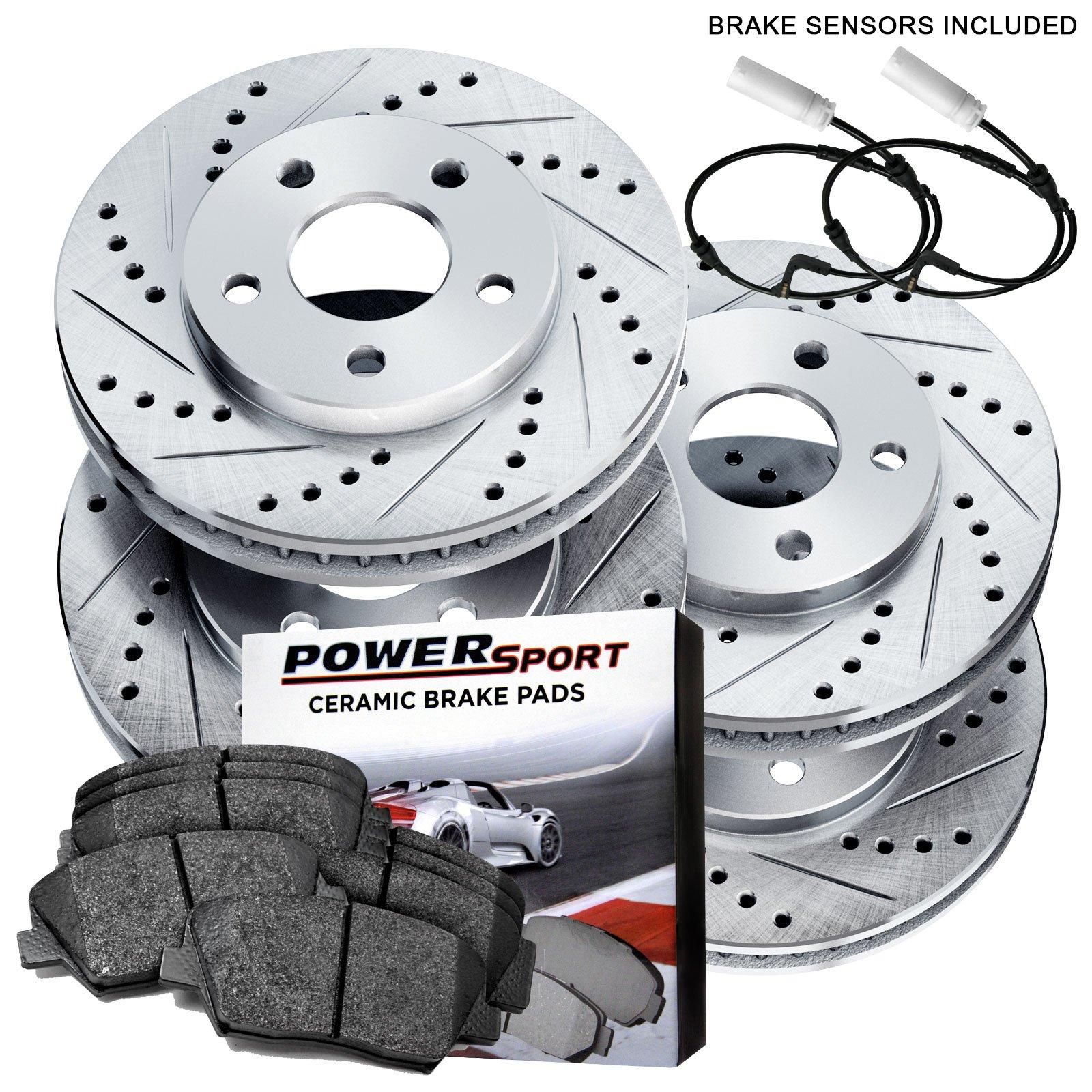 For Mini Cooper John Cooper Works 2007-2014 Front Brake Disc Rotor Genuine
