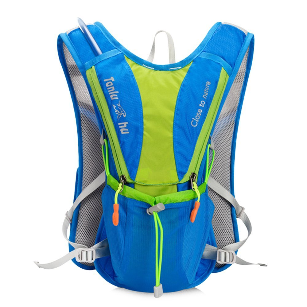 71f52c0be8 Get Quotations · Tluhu 2 Litre Hydration Pack Water Rucksack Backpack  Cycling Bladder Bag Hiking Climbing Pouch(Hydration
