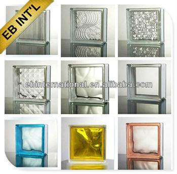 Claro y ladrillos de vidrio de color precio vidrio - Ladrillos de vidrio precio ...