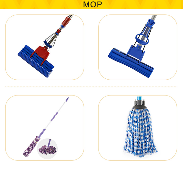 BILLY Suppliers Sell Quality Assurance PVA Floor Cleaning Mop Clean Set Mop