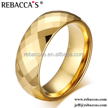 Men s Gold Plated Copper Ring Brass Ring Fashion New Gold Ring