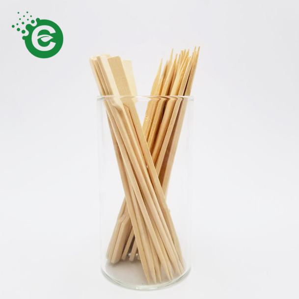 Natural <strong>Bamboo</strong> Color <strong>Sticks</strong> Environmentally Friendly Skewer Classic Stylish <strong>Decorative</strong> Skewers