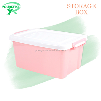 Top Quality Colorful Stackable toy Storage Bin Plastic Home Storage Container Box for Sundries  sc 1 st  Alibaba & Top Quality Colorful Stackable Toy Storage Bin Plastic Home Storage ...