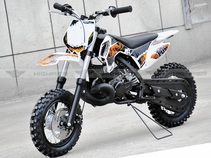 50cc 2 Stroke Kick Start Gas Mini Kids Dirt Bike For Kids Db502b