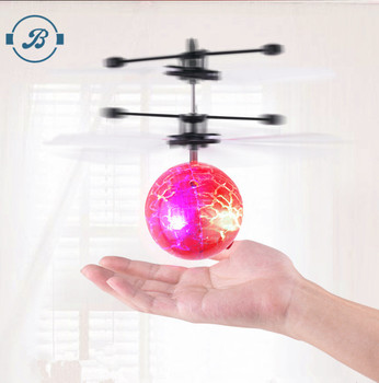 New style RC Flying Ball infrared Induction Helicopter Ball Built-in Shinning LED Lighting for Kids Colorful Flyings for Kids