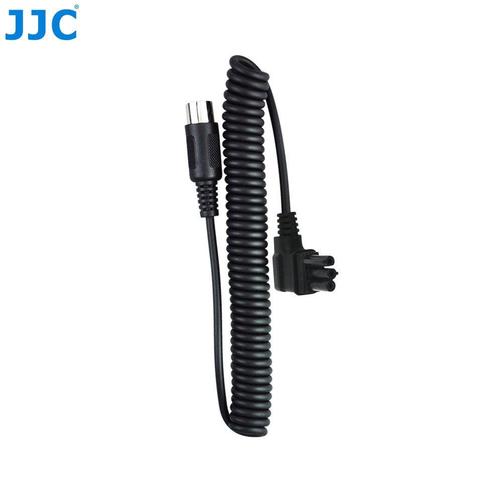 JW Battery Cable Fits JJC BP Battery Packs Replaces Nikon SD-9 For Nikon SB-910 SB-900 SB-5000+JW Cleaning Cloth