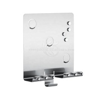 stainless steel magnetic memo holder
