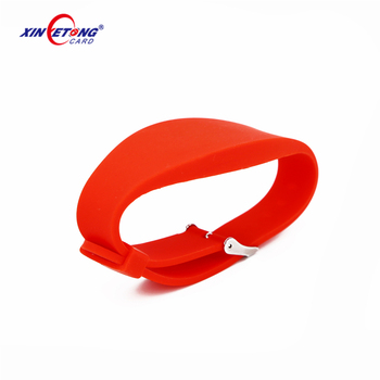 High Quality Cheap price Factory custom design silicon disposable rfid bracelet Wristbands