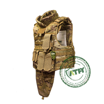 Kevlar ballistic bulletproof vest full body suit bulletproof body armor