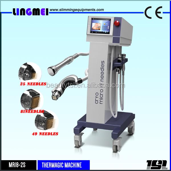 Lingmei Skin lifting MFR SFR fractional rf microneedling machine with cooling&Heat hammer