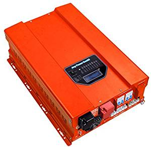 HF Series ZODORE 2000w Peak 6000w Low Frequency 60Hz Pure Sine Wave Inverter/ Charger DC 12v AC 110v Converter LED&LCD