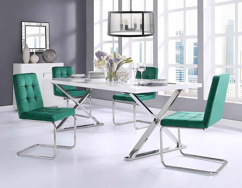 Silla Estilo De Terciopelo Comedor Diseño Moderno Espalda Buy Cómodo Tela Cojín Elegante Muebles Americano Suave eBxCdo