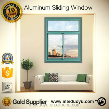 Aluminum Window Frames Price Pvc Vertical Sliding Window