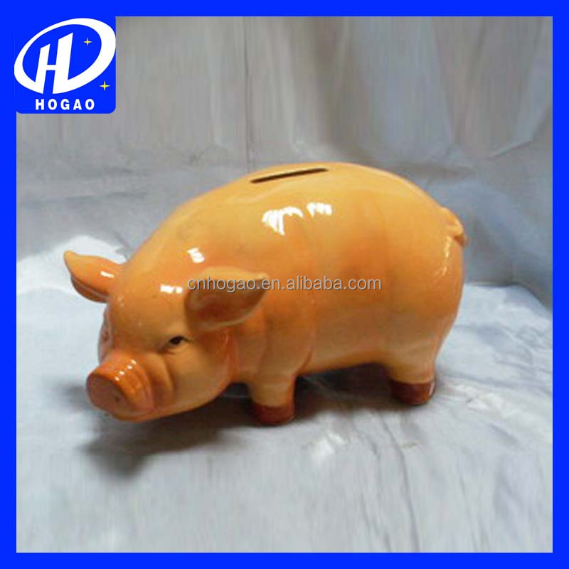 Wholesaler large ceramic piggy banks large ceramic piggy Large piggy banks for adults