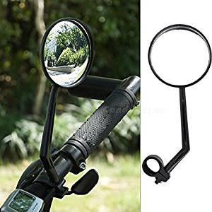 411bd5a7e30 Yosoo Pack of 2 Motorcycle Mirrors Mirrycle MTB Bar End Mountain Bicycle  Mirror Bike Helmet Mirror