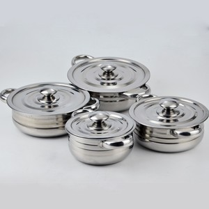 Cheap price 3pcs/4pcs cookware sets casserole set as seen tv die cast casserole cookware set
