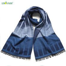 Mens Scottish Cashmere Brushed Scarf Tassel Wholesale Men Scarf