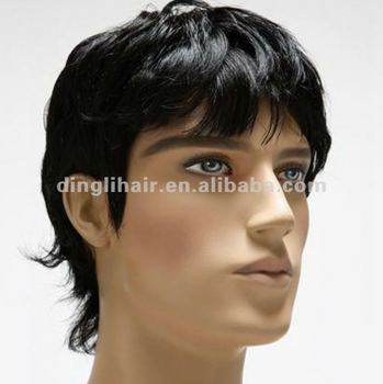 New fashion high quality hair wigs for black men human hair new fashion high quality hair wigs for black men human hair extension and wigs pmusecretfo Choice Image