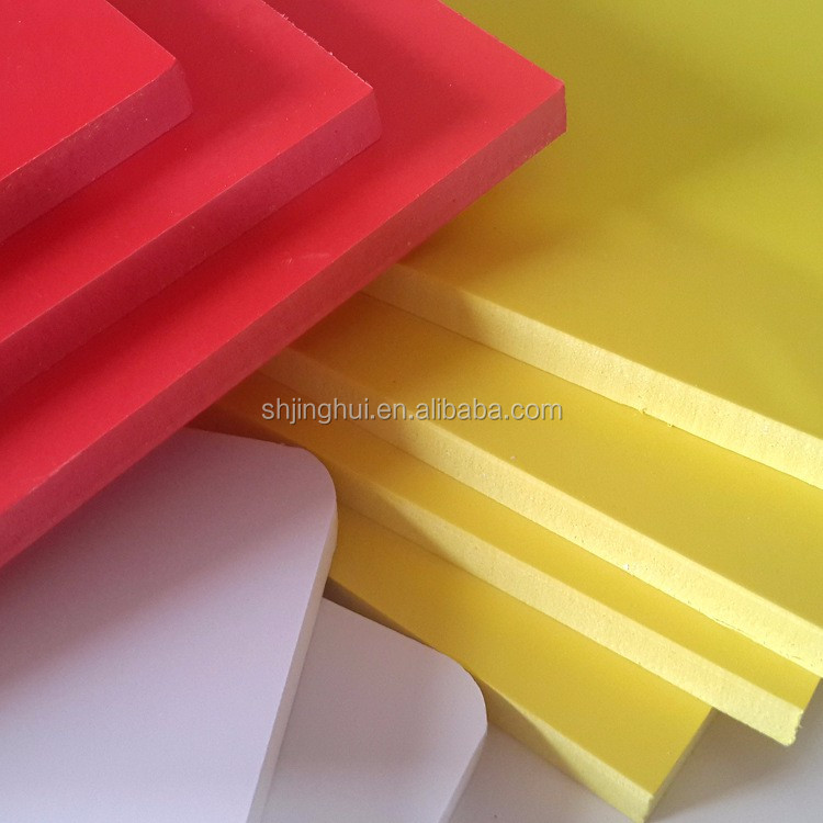 no glue and paint sample available pvc foam board for displays
