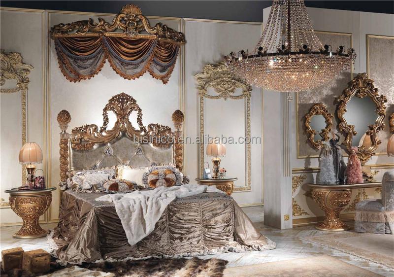 Italienne antique sculpt meubles de chambre coucher en bois with meuble italien chambre a coucher - Chambre italienne pas cher ...