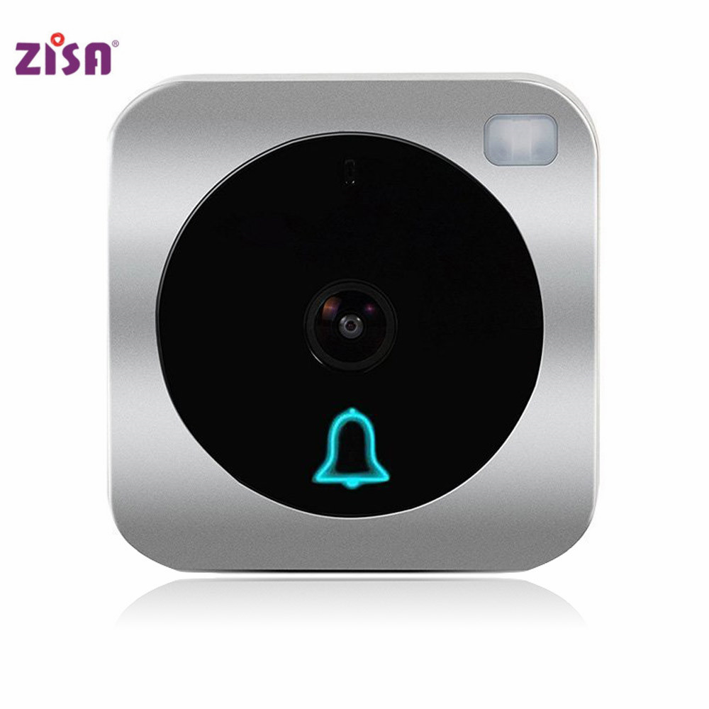 ZISA Wifi Doorbell V2 Doorbell With Wifi Camera, Wireless Intercom Door Camera Digital Door Lock
