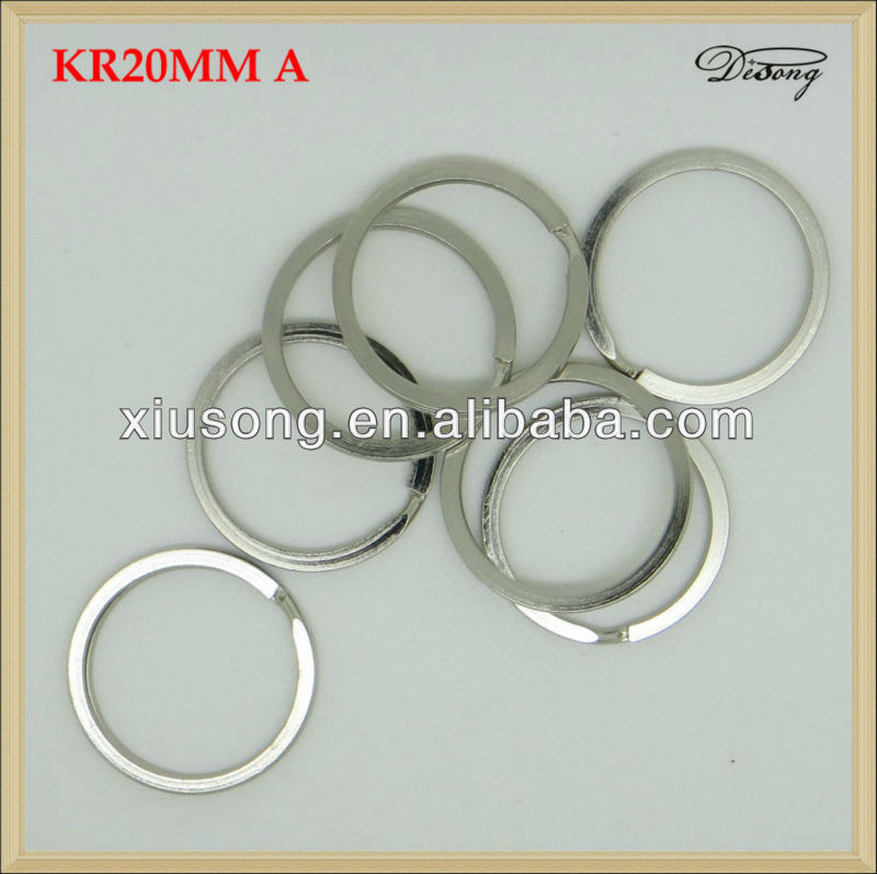 KR20mm metal o ring strap adjustable buckles for belt bag clothes