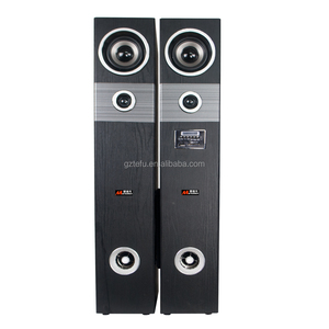 2.0 Home theater music system 8inch hi fi bluetooth tower speaker