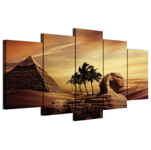 Wall Art Decor Poster Painting On Canvas Print Pictures 5 Pieces Pyramid