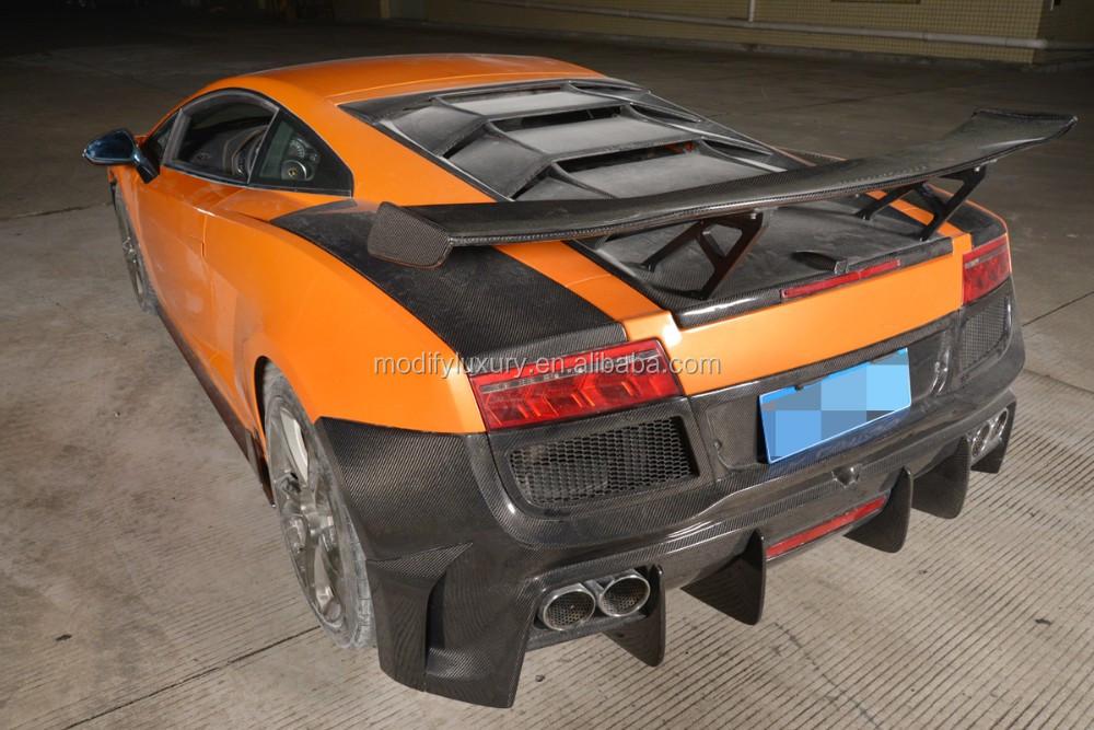 Carbon Lp550 Lp560 Lp570 Rear Engine Fender Flares For Lamborghini ...