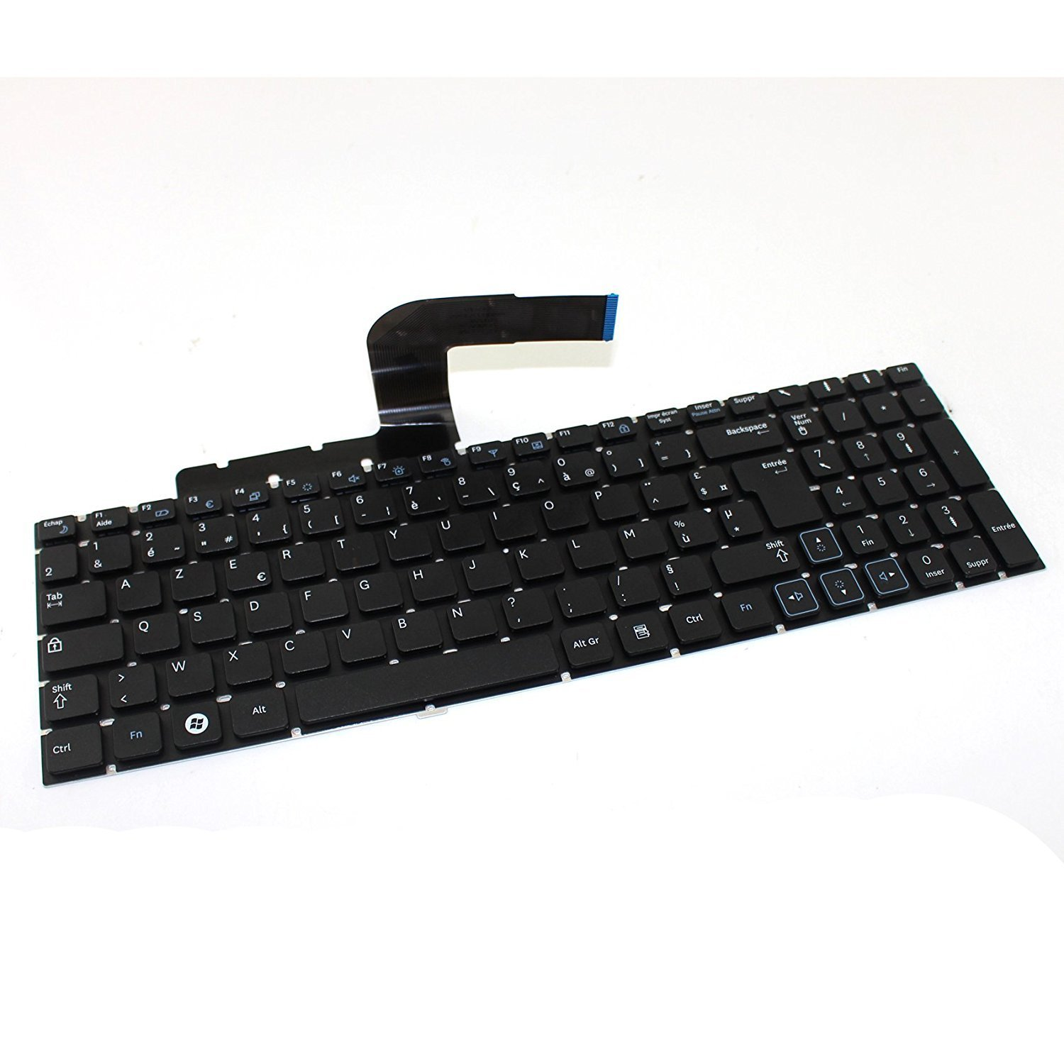 YEECHUN Black FR French AZERTY Keyboard France Clavier NO Frame For For Samsung NP RV511 RV515 RV520 Series New Notebook Replacement Accessories