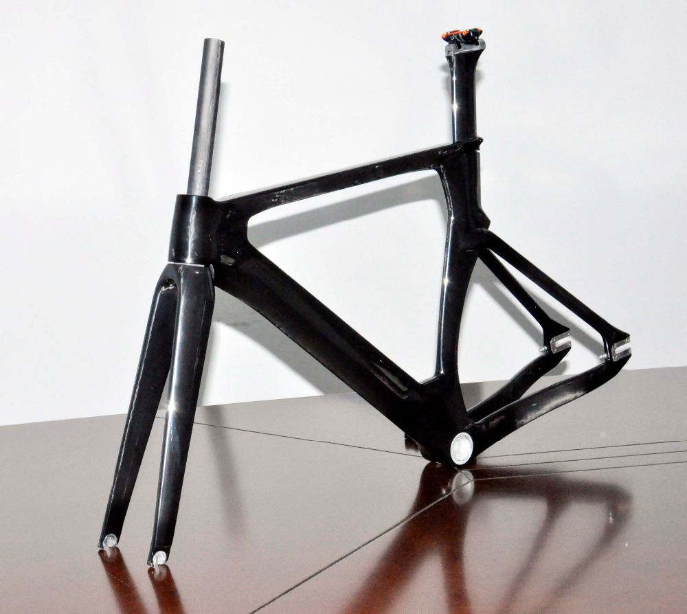 100% Full Carbon Track Bicycle Frameset High-end Carbon Track Frames ...