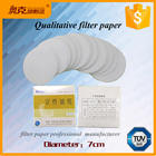Lab [ Filter Paper Used ] Chemical Filter Paper Manufacturer 7cm Qualitative Filter Paper Used In The Laboratory School Chemical Plant