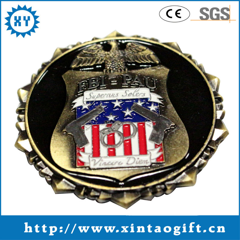 2013 Hottest USA eagle 3d custom challenge coin