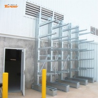 galvanized cantilever rack for storage steel pipe