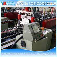 YTSING-YD-5971 Automatic Metal Double Row Stud and Track/Furring/Ceiling Profile Cold Roll Forming Machine/ Making Machinery