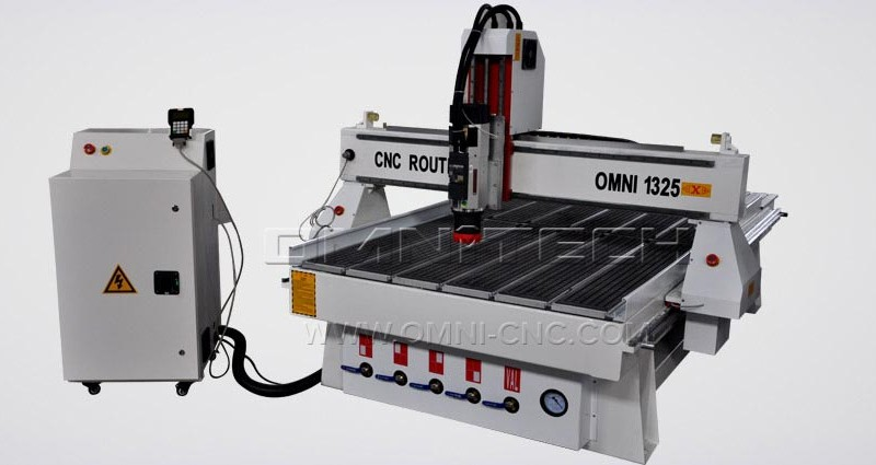 cnc router 1325 4 axis 3D Wood Sculpture Furniture Making Machine